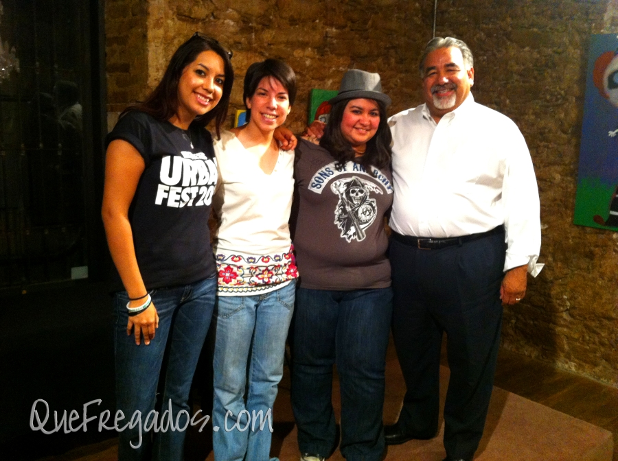 "The team that went to Tulsa, OK to compete - Crystal Ortiz, Julia Orduña, Beatriz Ceja and Armando X. Lopez.  (not pictured, M. Robert ""Chibbi"" Orduña)"