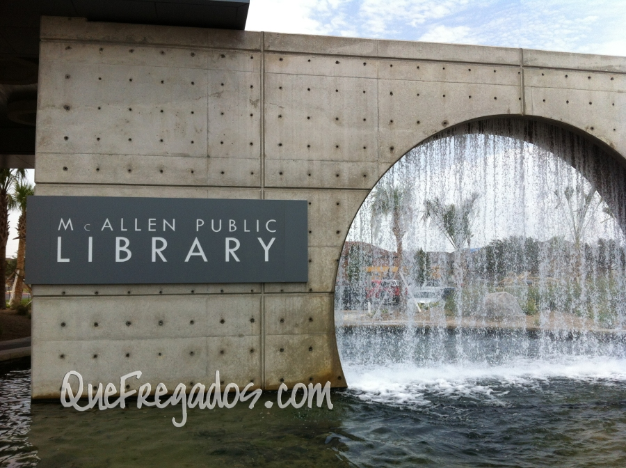 Then a gorgeous fountain that provides a misting effect if you are close enough