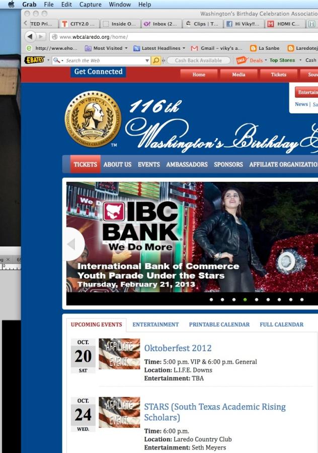screen shot of the WBCA website line-up announcement.